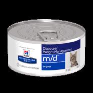 Hill's PD Feline m/d Диетический корм при нарушении обмена веществ (конс. 156 г)
