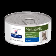 Hill's PD Feline Metabolic Диетический корм для коррекции и контроля веса (конс. 156 г)
