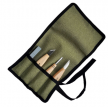Набор резчицкий ПЕТРОГРАДЪ N6  3 ножа и заточной абразив М00016083