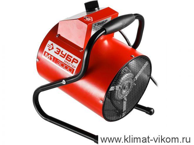 Тепловая электрическая пушка ЗТП-М1-3000 1,5 кВт (круглая)
