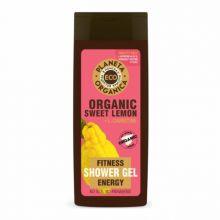 ECO Organic sweet lemon Бодрящий гель для душа 340мл.