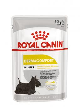Роял канин Дермакомфорт паштет пауч (Dermacomfort Loaf) 85г.