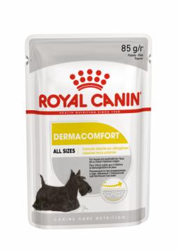 Роял канин Дермакомфорт паштет для собак пауч (Dermacomfort Loaf) 85г.