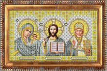 И-4088 Благовест. Триптих в серебре. А4 (набор 800 рублей)