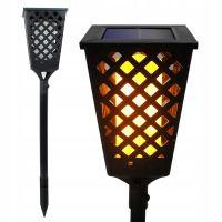 Уличный фонарь на солнечной батарее Dancing Tiki Light (1)