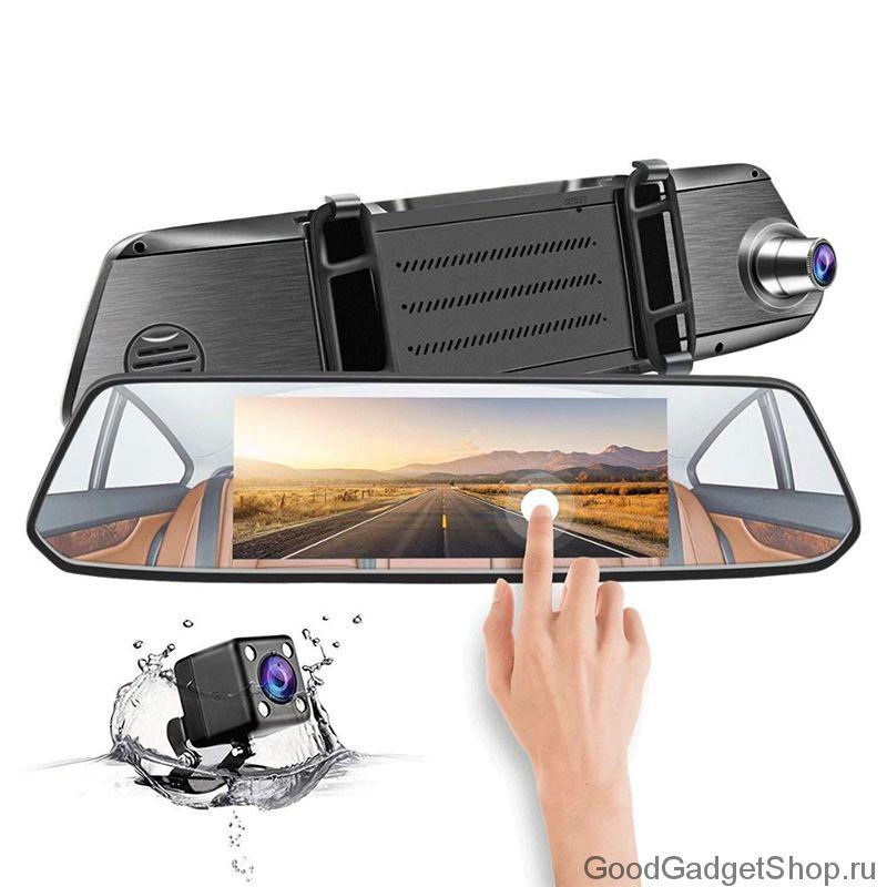 Видеорегистратор HD Touch Dual Lens Driving Recorder
