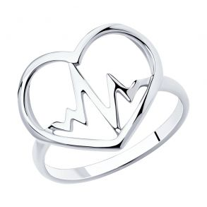 Кольцо из серебра 94013089 SKLV