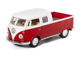 Машина Kinsmart инерционная 1963 Volkswagen Bus Double Cab Pickup 1:40