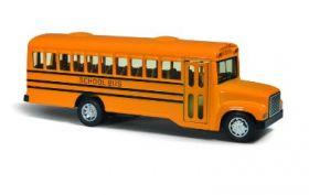Машина игрушка металл автобус School Bus