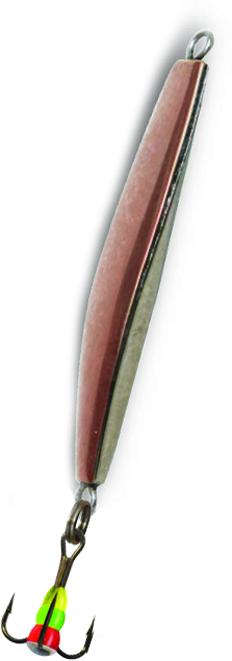 Блесна зимняя SWD ICE GLAIDER (37мм, вес 5г, сереб+медь, блист)