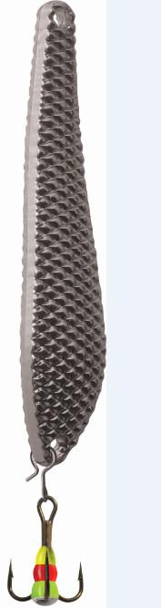 Блесна зимняя SWD ICE QUADRANGLE (55мм, вес 7г, сереб, блист)