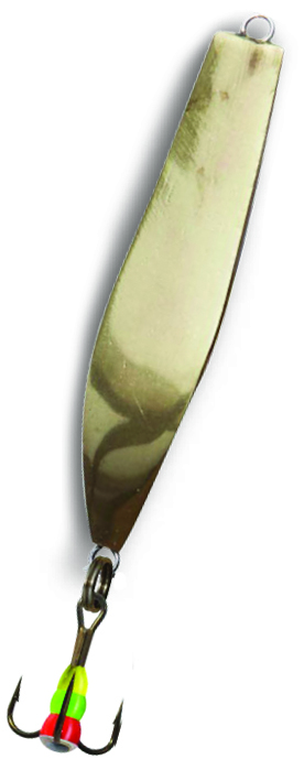 Блесна зимняя SWD ICE ROOK (40мм, вес 5г, сереб+зол, блист)