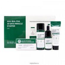 """Some By Mi"" AHA/BHA/PHA 30Days Miracle Starer Kit Edition Набор для проблемной кожи с кислотами"