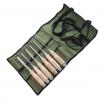 Набор долото ПЕТРОГРАДЪ 6 шт (4, 6, 8, 10, 12, 16мм) в сумке-скрутке М00015814