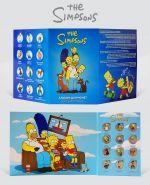 Набор 1 РУБЛЬ - The Simpsons - 12 шт в АЛЬБОМЕ