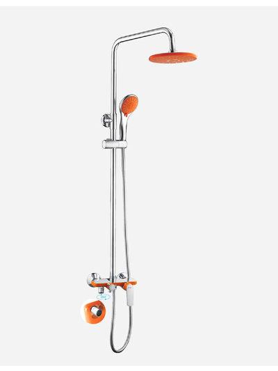 FRAP 2432 душевой гарнитур оранжевый