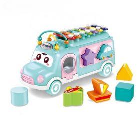 Развивающая игрушка Музыкальный автобус