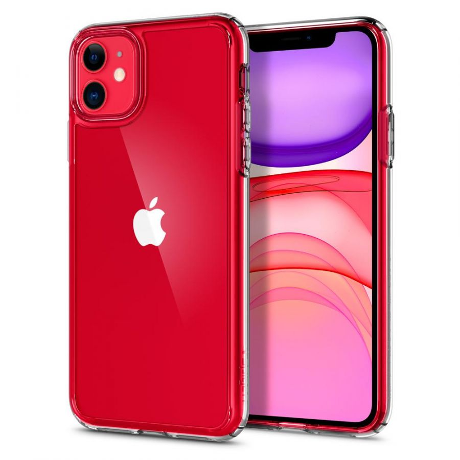 Чехол Spigen Ultra Hybrid для iPhone 11 кристально-прозрачный