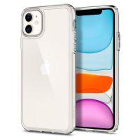 Купить чехол Spigen Ultra Hybrid для iPhone 11 прозрачный чехол для Айфон 11 в Москве в интернет магазине аксессуаров для смартфонов elite-case.ru
