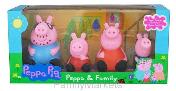 Игровой набор из 4-х фигурок Свинка Пеппа
