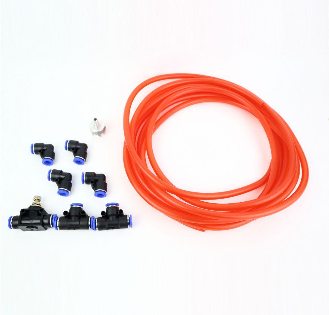 Комплект для подключения на угловых быстросъемах 10 мм