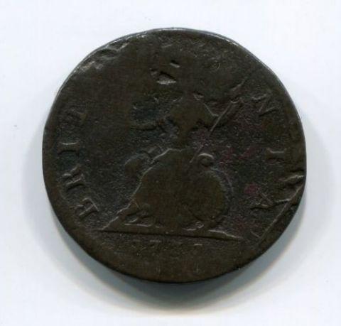 1 фартинг 1731 года Великобритания