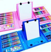 Набор для рисования со складным мольбертом в чемоданчике_1