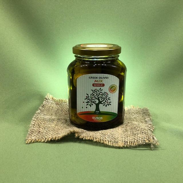 МИКС из оливок и маслин в оливковом масле Extra Virgin