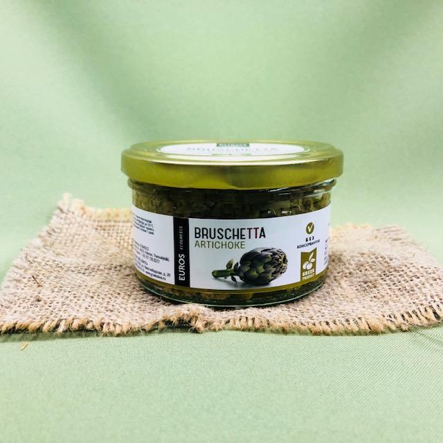 Брускетта из артишоков в оливковом масле