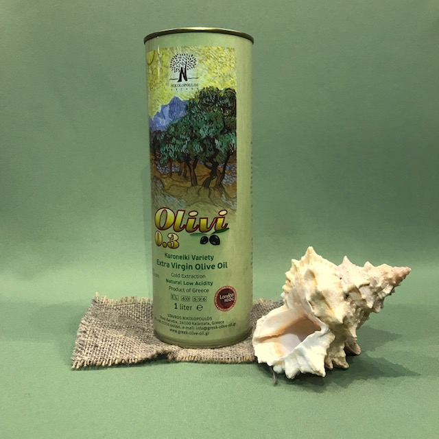 "Масло оливковое первого холодного отжима ""Olivi"" 500 мл"