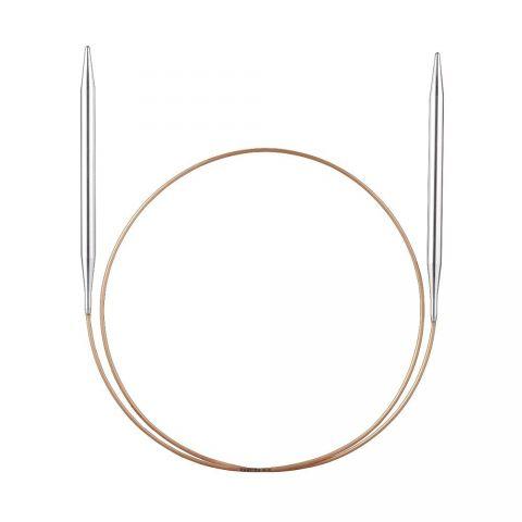 Спицы ADDI круговые супергладкие 80 см