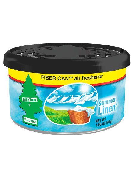 """Car-Freshner Ароматизатор в баночке Fiber Can """"Летняя свежесть"""" (Summer Linen)"""