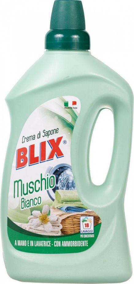 BLIX Средство для стирки с кондиционером. Белый мох, 1 л