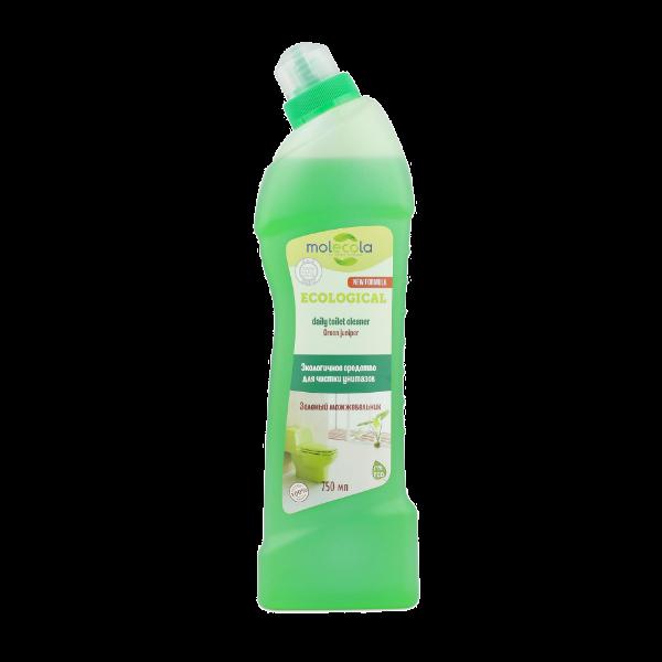 Экологичное средство для чистки унитазов и сантехники Зеленый можжевельник, 750мл