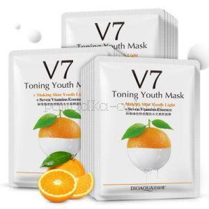 Маска восстанавливающая для лица V7 Toning Youth  ORANGE