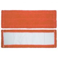 Прямоугольная Насадка для Швабры из Микрофибры, Цвет Оранжевый (2)