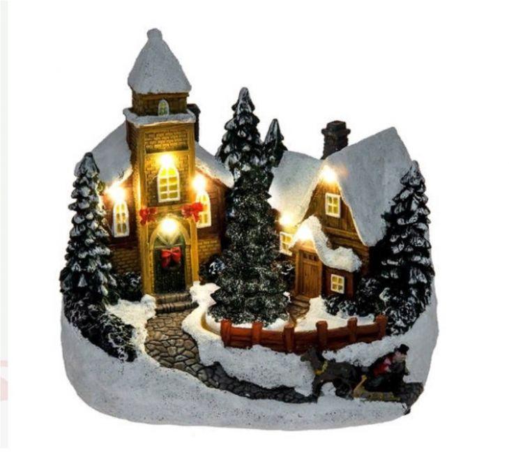 Зимняя Рождественская Деревня LED 307072