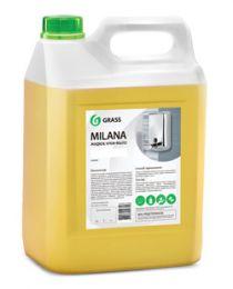 Крем-мыло жидкое увлажняющее Milana молоко и мед 5л- купить в Челябинске | Антибактериальное жидкое мыло цена