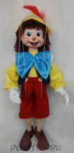 Кукла-марионетка Буратино - Pinocchio 1 А8-1(Чехия, Praha, Hand Made, авторы  Ивета и Павел Новотные)
