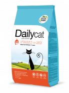 Dailycat ADULT Hairball Turkey & Rice для взрослых кошек, выводящий шерсть из желудка, с индейкой и рисом (0,4кг)