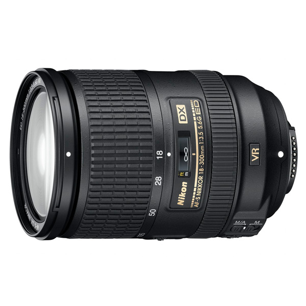 Nikon 18-300mm f/3.5-6.3G ED VR AF-S DX