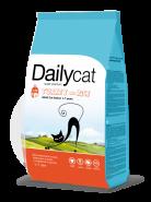 Dailycat ADULT Indoor Turkey & Rice для взрослых кошек, живущих в доме, с индейкой и рисом (0,4кг)