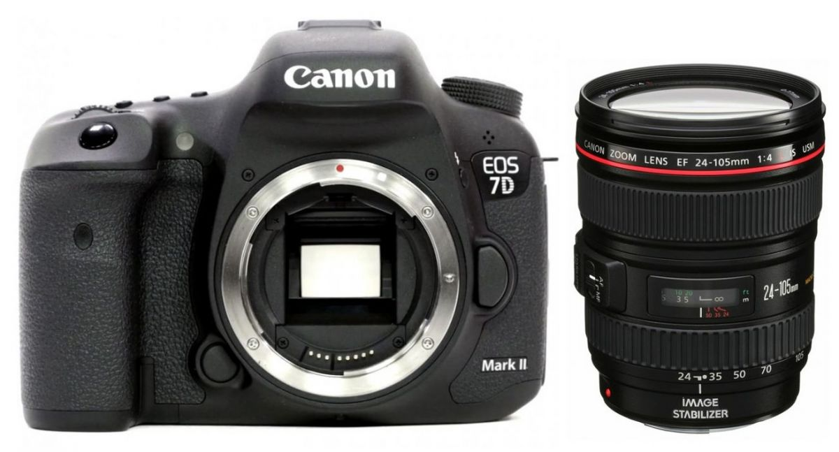 Canon EOS 7D Mark II kit 24-105 IS USM