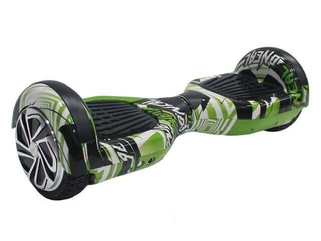 Гироскутер Smart Balance Pro 6.5 Зеленый граффити