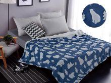 Плед  велсофт FLUFFY 1.5-спальный 150*200 Арт.150/004-SH