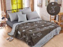 Плед  велсофт FLUFFY 1.5-спальный 150*200 Арт.150/008-SH