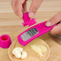 Терка для Чеснока Garlic Mixer, Цвет Розовый (1)