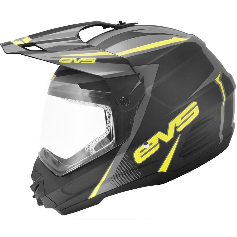 EVS - Venture Graphic Hi-Viz шлем матовый, черно-желтый