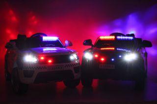 Детский электромобиль River Toys  полиция E555KX