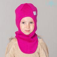 HOH ШЗ20-06391742 Шапка-шлем зимняя со светоотражающим шевроном, малиновый